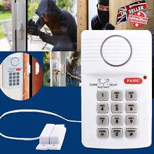 Wireless Security Keypad Home Door Shed Garage Caravan Office Panic Alarm System