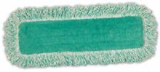 "Rubbermaid, 18""L x 5""W, Green, Dust Mop Refill, Material Microfiber, Launderable"