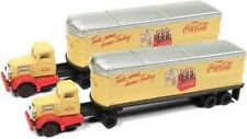 """Classic Metal Works 51177 N Tractor w/Trailer """"Coca Cola"""" (2)"""