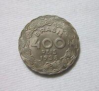 BRAZIL 400 REIS 1938