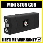 NEW BLACK Self Defense Tactical Mini Stun Gun 10 MV Rechargeable LED Flashlight
