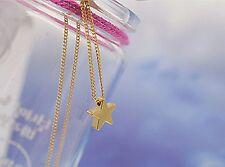 Bolsa De Regalo Collar Estrella mágico chapado en oro Cadena Colgante enlace Amor Infinidad deseo
