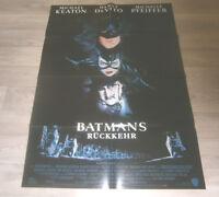 A1-Filmplakat - BATMAN RÜCKKEHR - Michael Keaton, Michelle Pfeiffer.