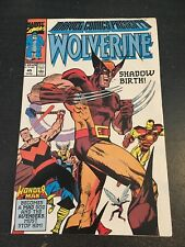 Marvel Comics Presents#45 Incredible Condition 9.2(1990) Wonder Man, Wolverine!!
