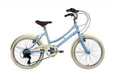 Elswick Girls Cherish 20 Inch Heritage Bike Baby Blue 7-9 Years 6 Speed