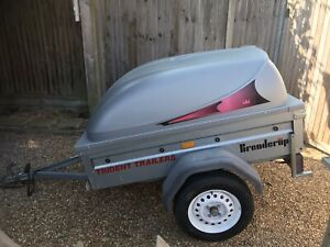 Brenderup 1150S Camping Trailer with Hard Top