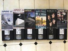 Logic Skateboard Magazine Vhs Lot Rare Vintage 6 Tapes