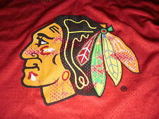 Chicago Blackhawks youth kids red replica practice style jersey size large 14-16