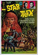 STAR TREK #17 7.5 GOLD KEY CREAM/OFF-WHITE PAGES BRONZE AGE