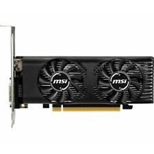 MSI NVIDIA GeForce GTX 1650 4GT LP 4GB GDDR5 HDMI/DL-DVI-D pci-e Video Card