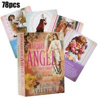 Guardian Angel Tarot Cards 78-Card Deck Angel Chakra Divination Gift Angel Card