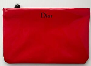 DIOR COSMETIC/MAKEUP BAG POUCH CLUTCH RED VIP GIFT