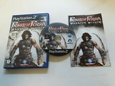 * Sony Playstation 2 Game * PRINCE OF PERSIA WARRIOR WITHIN * PS2