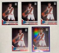 2019-20 Panini Donruss Optic Cam Reddish 5 ct RC Rookie Lot Purple Prizm #170