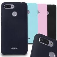 TPU Cover for Xiaomi Redmi 6 Rubber Silicone Phone Case Light Back Bumper Shell
