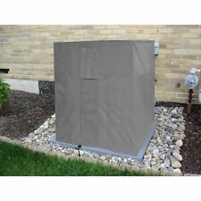 Air Condition Cover Weatherproof Heavy Duty Protector - Grey