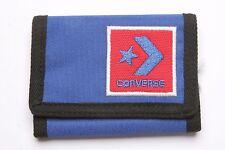 Converse Tri Fold Zip Wallet (Blue)