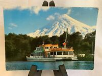 Rare Picture Vintage Postcard - Rare Stamping - Chile - Used