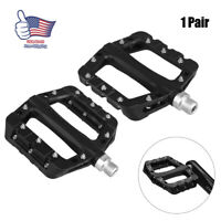 RockBros Mountain Bike Bicycle Bearing Pedals 1 pair Cycling Wide Nylon Pedal US