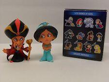"Funko Mystery Mini Disney Heroes Vs. Villains Aladdin ""Jafar and Jasmine"" Lot"