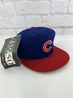 VINTAGE Chicago Cubs New Era Diamond Collection hat cap 7 1/8 Pro Model 90s RARE