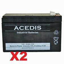 Batterie 12v pour onduleur APC Back-UPS Pro 1200VA BR1200G-FR APCRBC124