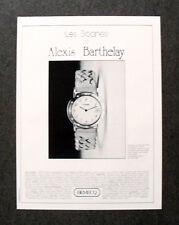 [GCG]  M611 - Advertising Pubblicità -1985- BEMECQ , ALEXIS BARTHELAY
