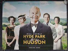Hyde Park am Hudson Bill Murray Original Filmposter Advance Quad 76x102cm
