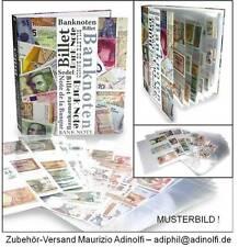 Neu: Sammelalbum Geldscheine Banknoten Papiergeld (erweiterbar) Album LESEN !!!