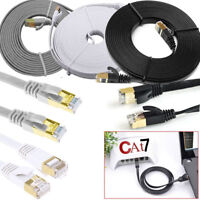 1M 2M 3M 5M 10M 15M 20M RJ45 Cat7 Ethernet Network LAN Patch SSTP Gigabit Cable