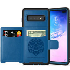 For Samsung Galaxy S20 Ultra S10 Plus Note 9/S9+ Magnetic Wallet Case Flip Cover