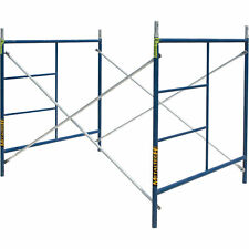 Metaltech Single Lift Scaffold Set - 5Ft. x 5Ft. x 7Ft., #M-Mfs606084