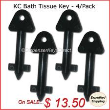 Kimberly Clark #770767 - Hand Towel & Bath Tissue Dispenser Key - (4/pk.)