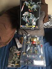 Takara Transformers Masterpiece MP-8 Grimlock with Flame Sword & Fanstoys Addon