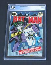 Batman #251 PGX 7.0 Neal Adams Classic Joker cover DC Comics 1973