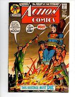"""Action Comics #402 (1971, DC) VF 8.0 """"SUPERMAN VS. SUPERGIRL DUEL; N. ADAMS-A"""""""