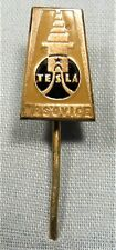 Tesla AC Pin ~ 1920's Radio Society