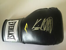 Kevin Mitchell mano firmato Nero Lonsdale Boxing Glove 1.