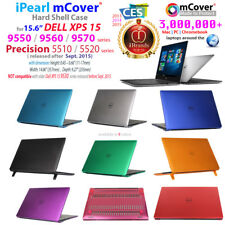 "mCover® HARD Shell CASE for 15.6"" Dell XPS 15 9550 9560 9570 Precision 5510 5520"