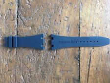 Audemars Piguet Strap Royal Oak Offshore Chrono Blue - Cinturino Originale Blu