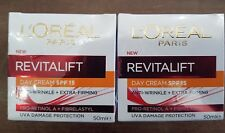 Loreal Revitalift Anti-Wrinkle + Extra-Firming SPF 15 Day Cream x 2 Jars