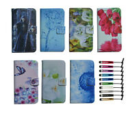 For Nokia luxury Wallet card holder Magnetic flip Leather case cover + stylus