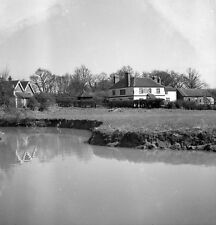 B/W 6x6 Negative Loxwood West Sussex Onslow Arms 1951 + Copyright redb1127