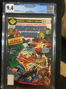 FANTASTIC FOUR #199 CGC 9.4 NM Near Mint WHITMAN VARIANT Dr. Doctor Doom cover!