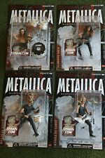 McFarlane Metallica 4 Figure set + Gene Simmons Kiss Lot