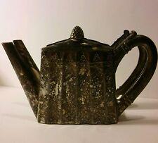 Vintage GODINGER Silver Plate Teapot Shaped Napkin Holder