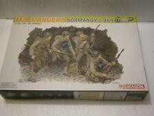 MAQUETTE FIGURINE SOLDATS AMERICAIN US RANGERS NORMANDY (1944) DRAGON 6306 1/35