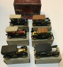 Classic Car Miniatures Cars Set of 6 original package Free Shipping