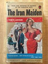 Edwin Lanham THE IRON MAIDEN 1954 Great Cover Art L@@K WOW!!!