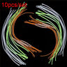 10Pcs/Lot Fly Fishing Braided Line Loop Connector Leader 20/30/50LB Dropshipping
